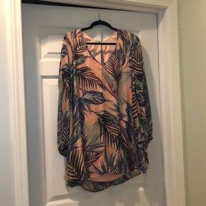 Show Me Your MuMu dress - tropical print